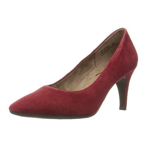 Aerosoles Women's Exquisite Dress Pump, Dark Red Suede, 8 M US