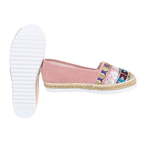 lT sandales BL Multi Chaussures 53 Rosa 6508 HqFH6d