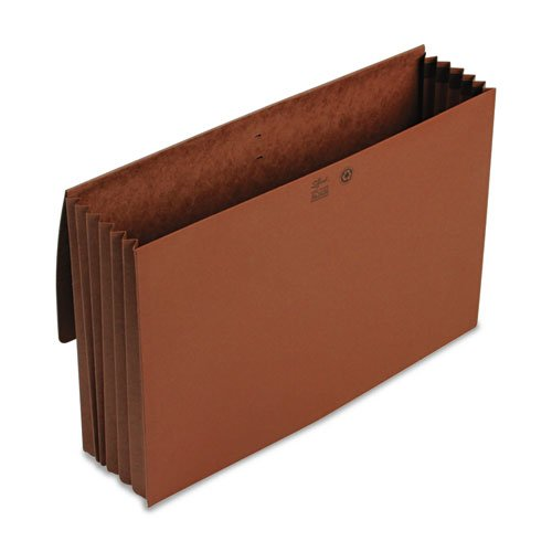 Smead - 5 1/4 Inch Accordion Expansion Wallet, Redrope, 14 3/4 x 9 1/2, Redrope 71075 (DMi EA