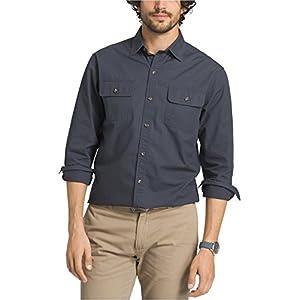 G.H. Bass & Co. Men's Essentials Long Sleeve Button Down