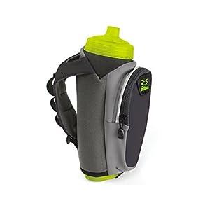 Amphipod Hydraform Ergo-Lite Ultra 20oz Running Bottle (Charcoal)