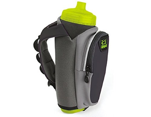 Amphipod Hydraform Ergo Lite Ultra 20oz Running Bottle (Charcoal)