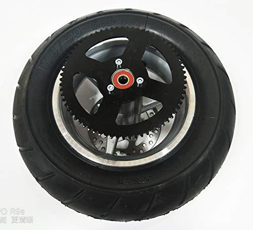 47CC 49CC Mini Pocket Bike 110/50-6.5 Rear Wheel Assembly Tire Rim MTA1 MTA2 WM19