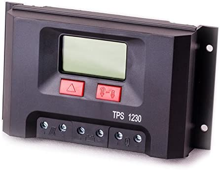 Solar Laderegler 12V bis 30A Display Solarladeregler Controller LCD Regulator