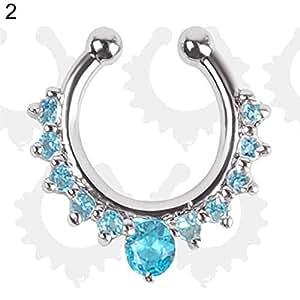 Amazon Com Softmusic Fashion Body Piercing Jewelry Women