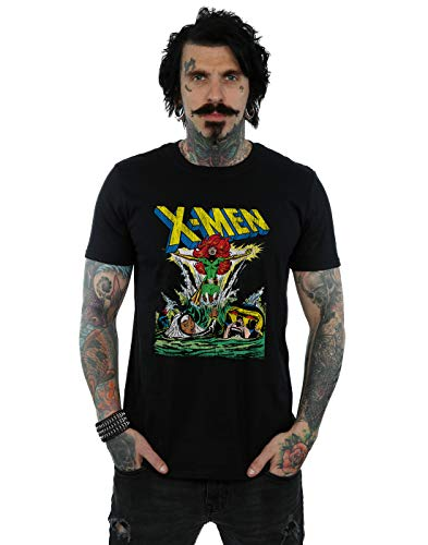 Marvel Men's X-Men Enter The Phoenix T-Shirt Black Medium