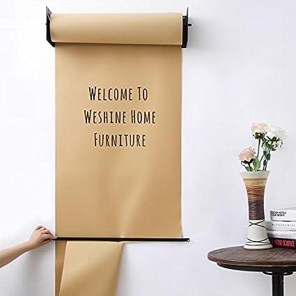 weshine Gadgets montado en la pared papel Kraft rollo de papel Holder Dispensador de papel para