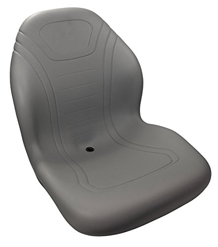 Stens 420-100 High Back Seat, Multi-hole mounting pattern, Universal seat, Waterproof vinyl, 21