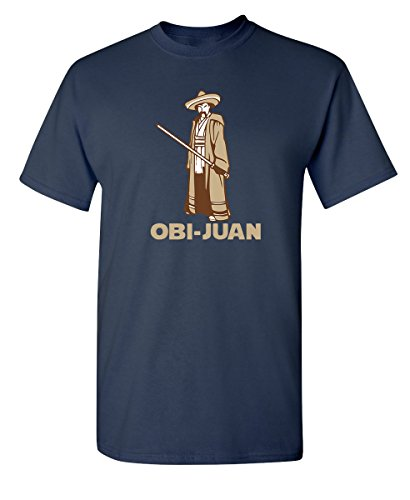 OBI Juan Sci Fi Nerd Geek Movie Science Graphic Tee for Men Very Funny T Shirt XL - Graphic Science Geek