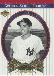 World Deck Upper Series (2002 Upper Deck World Series Heroes Baseball Card #79 World Series Mint)