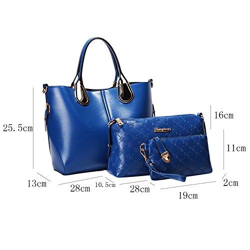25 19 Asas 5 28 10 13 Bolso Azul W 2 11cm amp; Collection® De Para Mujer 16cm L 5cm AqHHPzpca