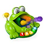 frog popper toy - Pop & Giggle Pond Pal