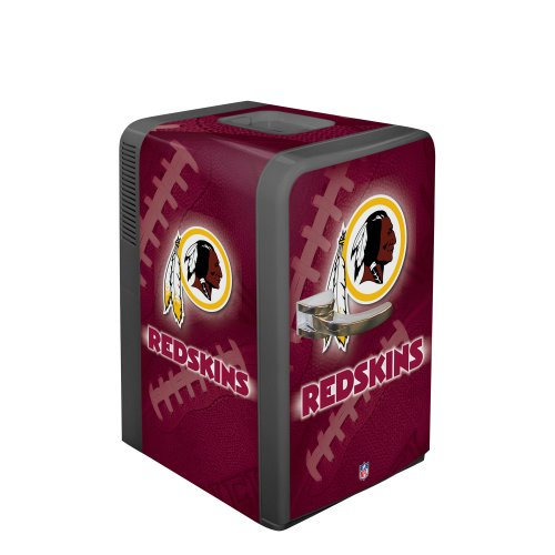 NFL Washington Redskins Portable Party Fridge, 15 - Washington Outlet Dc