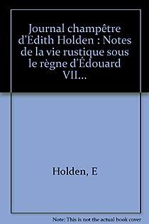 Journal champêtre d'Edith Holden par Holden