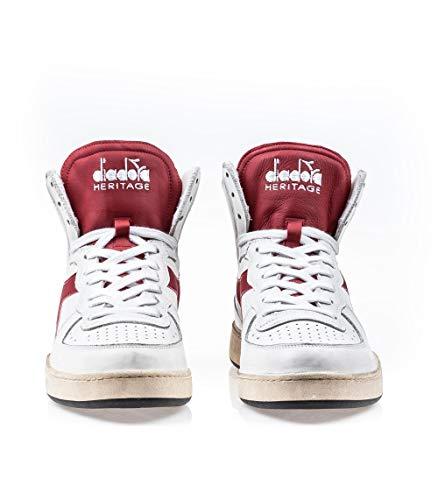 44 Eu Marrone Mi Used Basket Heritage Sneakers Uomo Pelle Diadora zq4pw8g