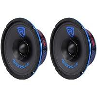 (2) Rockville RM64SP CEA Compliant 6.5 240W Mid-Range Car Speakers4Ohm