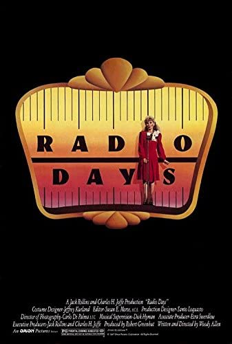 Amazon.com : RADIO DAYS (1987) Original Movie Poster 27x40 - S/S - ROLLED -  Woody Allen - Mia Farrow - Jeff Daniels - Larry David : Everything Else