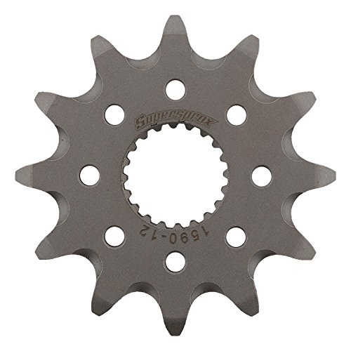 Supersprox CST-1590-12-1 Front Sprocket For Yamaha WR 250 R Dual Sport 08 09 10 11 12 13 14 15 16 17, WR 250 X Supermoto 08 09 10 11, YZ 250 F 01 02 03 04 05 06 07 08 09 10 11 12 13 14 15 16 17