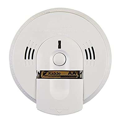 Kidde KN-COSM-IBA Hardwire Combination Smoke/Carbon Monoxide Alarm with Battery Backup and Voice Warning, Interconnectable