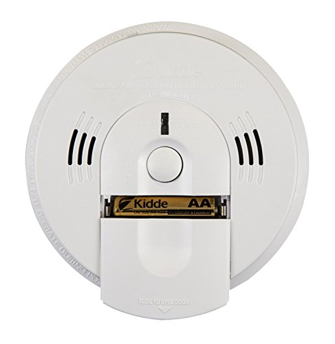 Kidde Hardwire Combination Smoke/Carbon Monoxide Detector Alarm with Battery Backup and Voice Warning, Interconnectable | Model KN-COSM-IBA