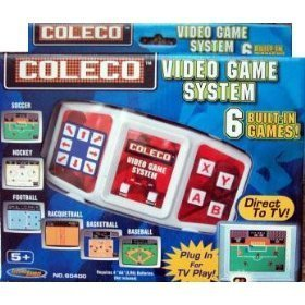 Coleco 6 in 1 Video Game System Plug N ()