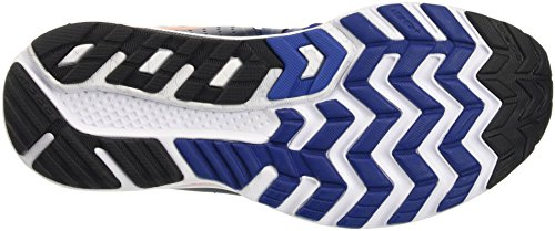 Saucony Hurricane Iso 2, Zapatillas de Running para Hombre Azul (Navy /     Blue /     Orange)