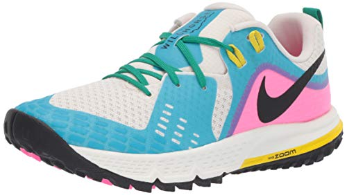 Nike Air Zoom Wildhorse 5 Women's Running Shoe LT Orewood BRN/Black-Blue Fury 9.5