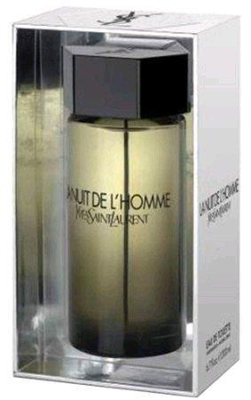 Yves Saint Laurent L'Homme La Nuit De Eau De Toilette Spray for Men, 6.7 - Saint Cologne Mens Laurent Yves