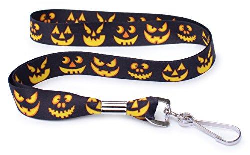 Jack o Lantern Halloween Pumpkin- Soft Printed ID