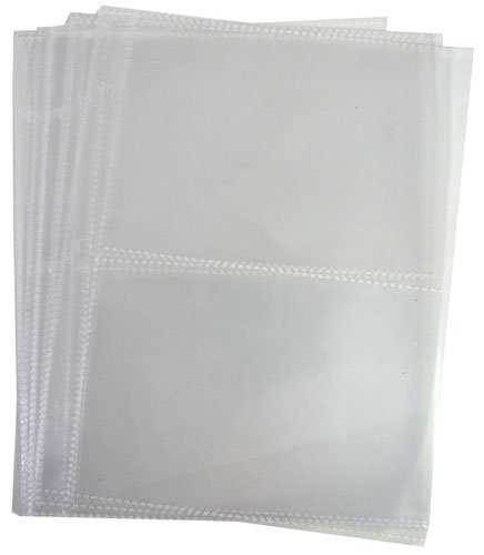 Picture Sheets - Clear Vinyl Photo Sleeves Holds 4