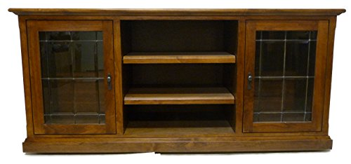 """Forest Designs Mission TV Stand, 21"""" Depth x 62"""" Width x ..."""
