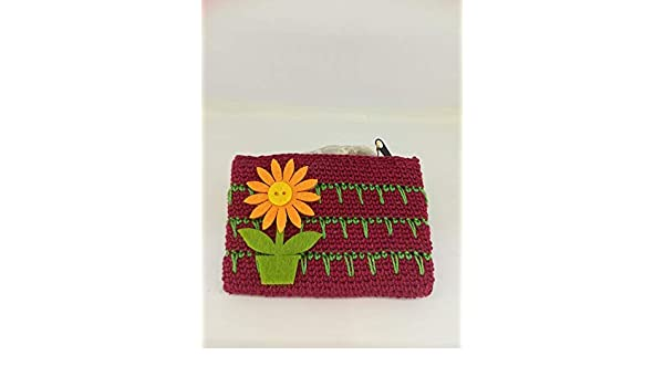 MONEDERO TEJIDO: Amazon.es: Handmade