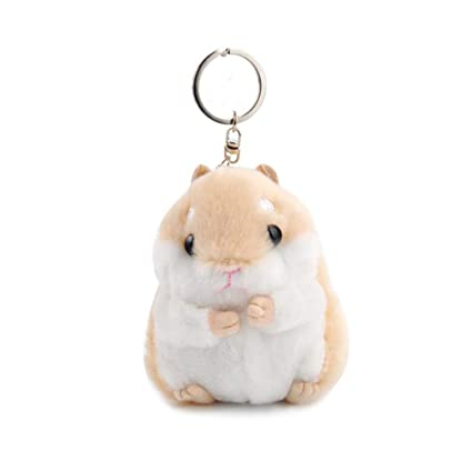 1pcs Cool Plush Keychain Toy Kids Fans Collection Kawaii Stuffed Pendant Real Keychain Cute Kids Easy To Use Stuffed Animals & Plush