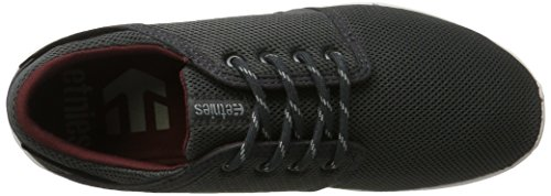 Zapatos Etnies Scout Dark Gris-blanco-rojo