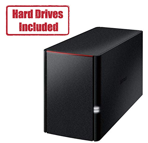 BUFFALO Linkstation 220 2TB Private Cloud Storage NAS with Hard Drives Included (Best Ftp Cloud Storage)