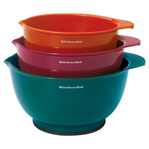 blue kitchenaid mixing bowls - 8