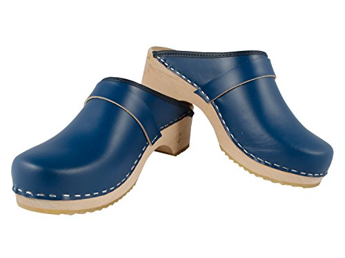 Mb Mb Zuecos Clogs Azul Zuecos Unisex Clogs Azul Unisex gaqxFw4