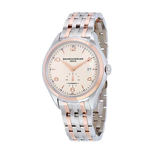 - Baume & Mercier Men's BMMOA10140 Clifton Analog Display Swiss Automatic Two Tone Watch