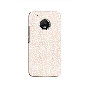 Cover It Up - Orange Pebbles Mosaic Moto G5 Plus Hard Case