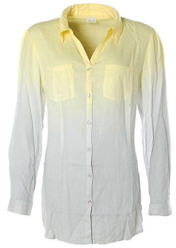 Aniston - Camisas - con botones - Manga Larga - para mujer Grau-Gelb