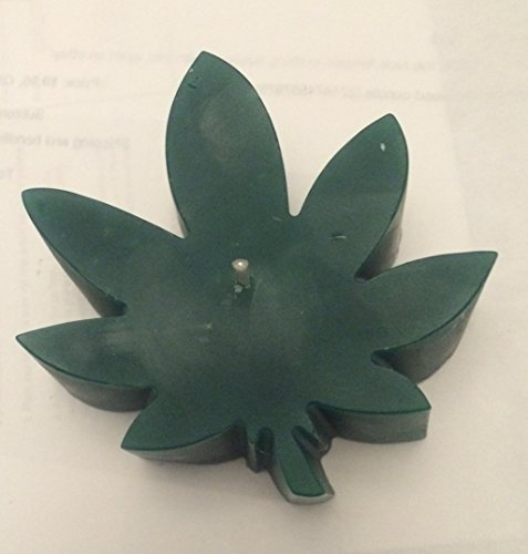 JOANNDLES Marijuana Weed Pot Leaf Shaped Candle ()