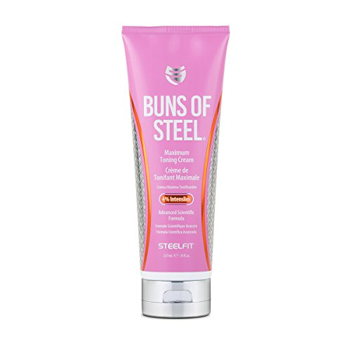 (SteelFit Buns of Steel Maximum Toning Cream with 4% Intenslim)