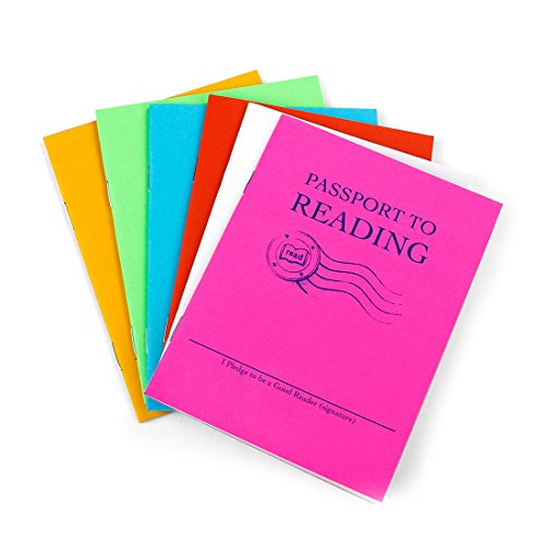 Hygloss Products Passport to Reading Log Book - Journal and Notebook for Kids - 24 Pages]()