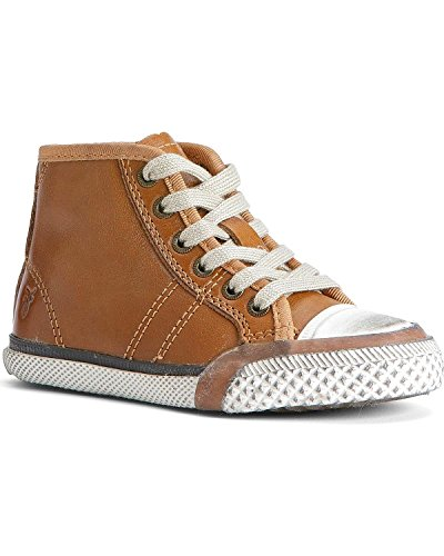 FRYE Boys' Greene Mid-Lace Shoes Brown 6 D(M) US ()