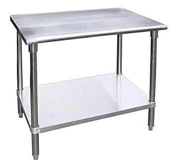 WORK TABLE WITH/WITHOUT 4 CASTERS WHEELS STAINLESS STEEL FOOD PREP  WORKTABLE 30u0026quot; ...
