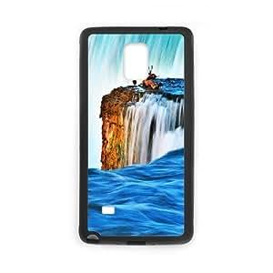DIY Stylish Printing Nice waterfall Cover Custom Case For Samsung Galaxy Note 4 N9100 V66Q962612