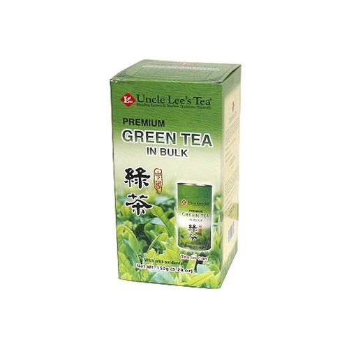 - Uncle Lee's Tea Loose Green - Case of 6 - 4.23 oz