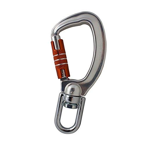 Fusion Climb Liberty Aluminum Swivel Triple Lock True Captive Eye Carabiner