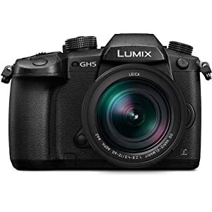 RetinaPix Panasonic Lumix GH5 20.3MP 4K Mirrorless Camera with Leica DG Vario-Elmarit 12-60mm F2.8-4.0 Lens and 64GB SDXC Memory Card