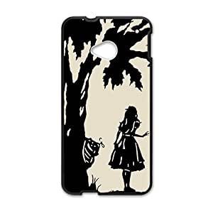 Happy Alice anime cartoon Cell Phone Case for HTC One M7
